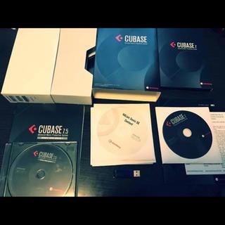 Cubase7&7.5アップデート版(DAWソフトウェア)