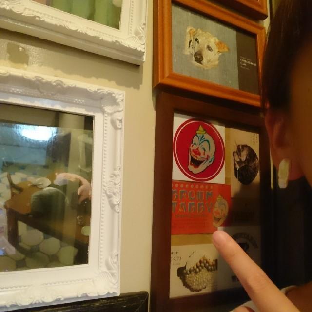 """""""朝焼け"""" アシンメトリー ハンドメイド チタンピアス 刺繍 ビーズ 淡水真珠 レディースのアクセサリー(ピアス)の商品写真"""