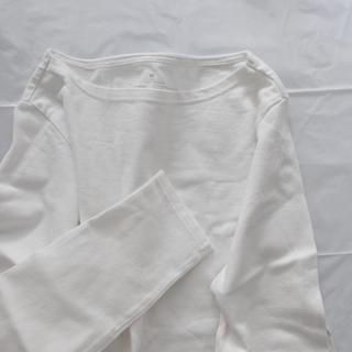 MUJI (無印良品) - 無印良品/ボートネック/長袖/M