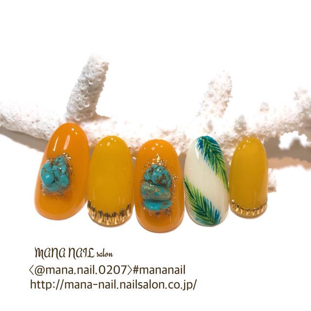 (53)新作【サイズ変更無料】 コスメ/美容のネイル(つけ爪/ネイルチップ)の商品写真