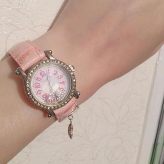 アレッサンドラオーラ(ALESSANdRA OLLA)のAlessandra olla 腕時計 ピンク ハートチャーム(腕時計)
