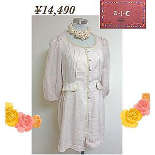 エーアイシー(A・I・C)のA.I.Cエーアイシーの新品未使用14,490円タグ付スプリングジャケットコート(スプリングコート)