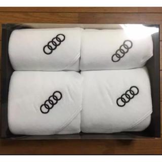 アウディ(AUDI)のAudi オリジナル タオル 4枚セット(タオル/バス用品)