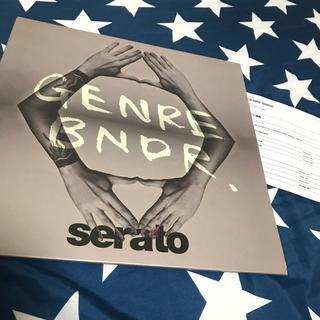 Genre Bndr serato 12インチ コントロールバイナル(DJコントローラー)