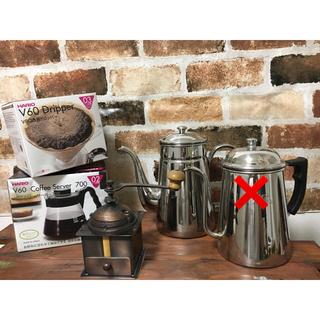 カリタ(CARITA)のコーヒーポット コーヒーサーバー ドリッパー コーヒーミルセット(テーブル用品)