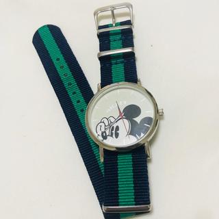 ディズニー(Disney)のスプリング 付録 ミッキー時計(腕時計)