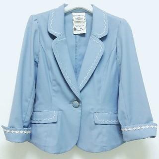 ロディスポット(LODISPOTTO)のロディスポット♡スカラップ刺繍ジャケット(テーラードジャケット)