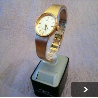 テクノス(TECHNOS)の美品テクノスフランソワGPレディース時計(腕時計)