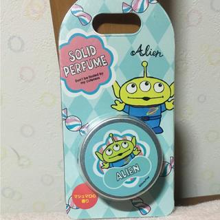 ディズニー(Disney)のリトルグリーンメン  ソリッドパフューム:マシュマロの香り♡(香水(女性用))