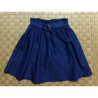 シマムラ(しまむら)の新品.スカート 110cm.キッズスカート 110cm.りんか&あんなちゃん(スカート)