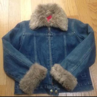 ジェニィ(JENNI)のSISTER Jenni ファー襟Gジャン 130サイズ(ジャケット/上着)