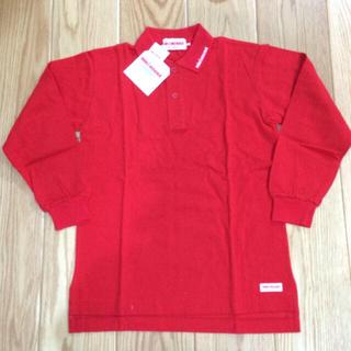 ミキハウス(mikihouse)のミキハウス 赤ポロシャツ(ポロシャツ)