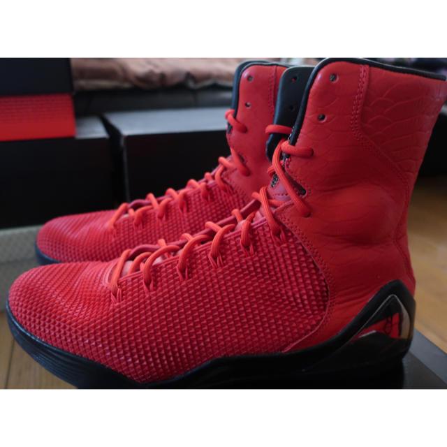 "NIKE - Nike Kobe 9 High KRM EXT QS ""Red"