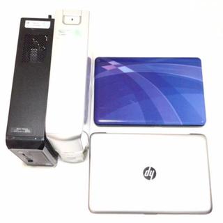 エヌイーシー(NEC)のパソコン4台セット (PC周辺機器)