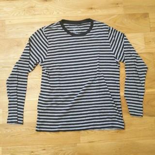 ムジルシリョウヒン(MUJI (無印良品))の無印良品 ボーダー長袖Tシャツ(Tシャツ/カットソー(七分/長袖))