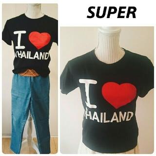 スーパー(SUPER)の❕新品♥プリントtシャツ(Tシャツ(半袖/袖なし))