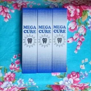 新品◆3本セット◆メガキュア MEGA CURE 80g(歯磨き粉)