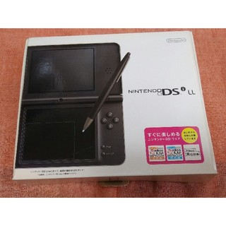 ニンテンドウ(任天堂)の【ジャンク品】Nintendo DSiLL ダークブラウン 任天堂(携帯用ゲームソフト)