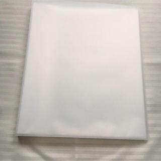 ムジルシリョウヒン(MUJI (無印良品))の無印良品 A4ワイド ポリプロピレンクリアホルダー 40ポケット 中古品(ファイル/バインダー)