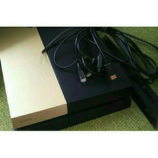 プレイステーション4(PlayStation4)のPS4本体CUH1000Aゴールドカバー★縦置きスタンドHDMI電源LAN (家庭用ゲーム機本体)