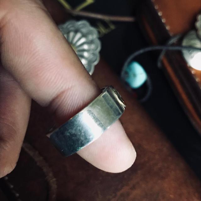 goro's(ゴローズ)のゴローズ   金付き 平打ち リング メンズのアクセサリー(リング(指輪))の商品写真