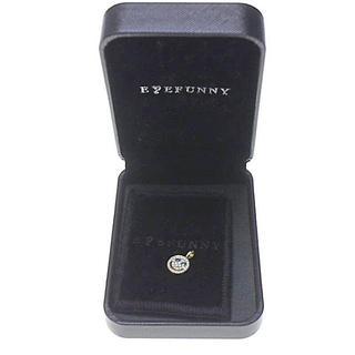 アイファニー(EYEFUNNY)のアイファニー EYEFUNNY ダイヤモンド スマイルS K18YG ネックレス(ネックレス)