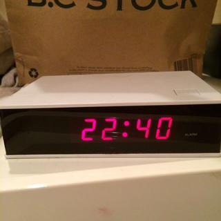 ムジルシリョウヒン(MUJI (無印良品))の無印良品デジタル時計(その他)