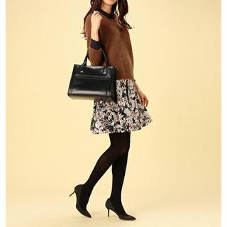 デミルクスビームス(Demi-Luxe BEAMS)の美品 デミルクスビームス  花柄スカート(ひざ丈スカート)