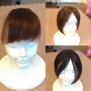 前髪ウィッグ 3個セット(前髪ウィッグ)