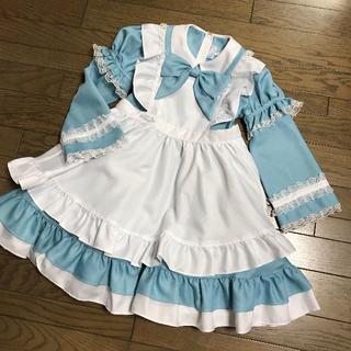 Catherine Cottage - キャサリンコテージ水色アリスエプロンドレス子供用ハロウィンコスプレ仮装衣装