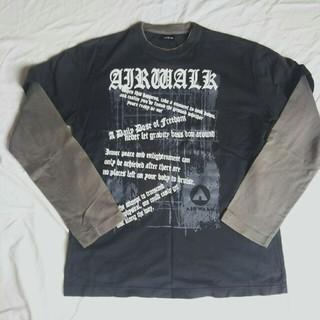 エアウォーク(AIRWALK)のAIRWALK ロンT メンズ 長袖 Tシャツ(Tシャツ/カットソー(七分/長袖))