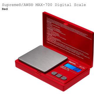 シュプリーム(Supreme)のSupreme AWS MAX-700 Digital Scale Red(調理道具/製菓道具)