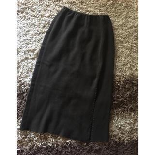 フォクシー(FOXEY)のフォクシー FOXEY カシミヤ100% スカート t7(ロングスカート)