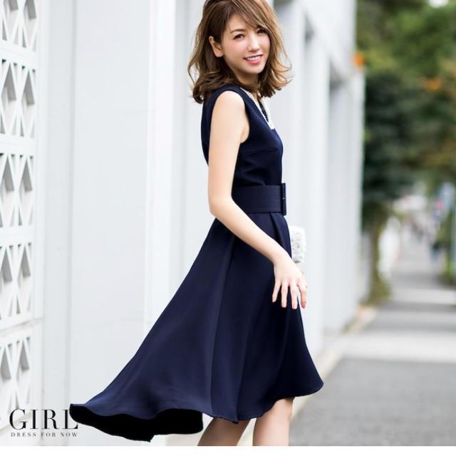 142eedd35a87b GIRL(ガール)のパーティドレス お呼ばれ ワンピース レディースのフォーマル ドレス(ミディアム