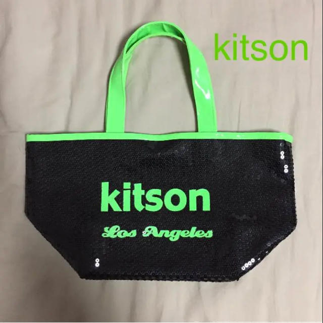 c3d59de70527 KITSON - Kitson スパンコールバッグの通販 by Kei's shop|キットソン ...
