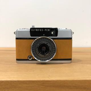 オリンパス(OLYMPUS)の【整備済・完動品】 OLYMPUS PEN EE-3 ブラウン(フィルムカメラ)