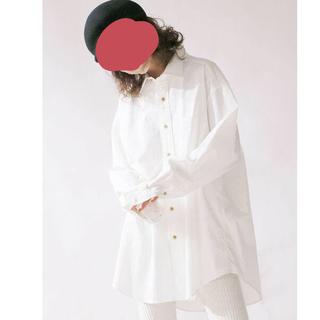 アングリッド(Ungrid)のT01095/Ungridコットンツイルビッグシャツ(シャツ/ブラウス(長袖/七分))