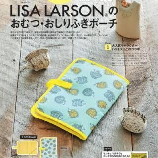 リサラーソン(Lisa Larson)の【新品】リサラーソン おむつ・おしりふきポーチ(ベビーおむつバッグ)