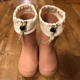 ムジルシリョウヒン(MUJI (無印良品))の無印良品子供のピンクの長靴(長靴/レインシューズ)