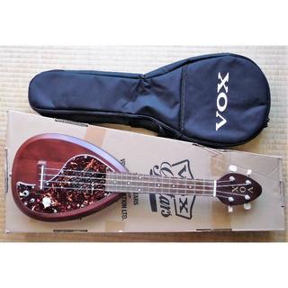 ヴォックス(VOX)のVOX エレクトリック ウクレレ  VEU-33C (ナチュラル・ブラウン)(コンサートウクレレ)
