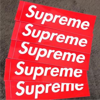 シュプリーム(Supreme)のシュプリーム supreme スティッカー ステッカー(しおり/ステッカー)