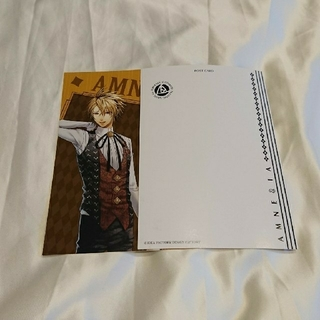 AMNESIA  オトメイトプレイングゲーム トーマ ポストカード(その他)