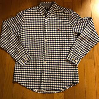 バーバリーブラックレーベル(BURBERRY BLACK LABEL)のバーバリーブラックレーベル ブルー色 ギンガムチェックシャツ(シャツ)
