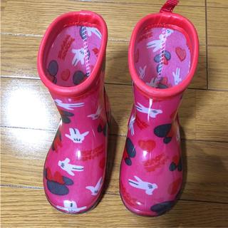 ディズニー(Disney)の長靴 ミニーちゃん 14cm(長靴/レインシューズ)