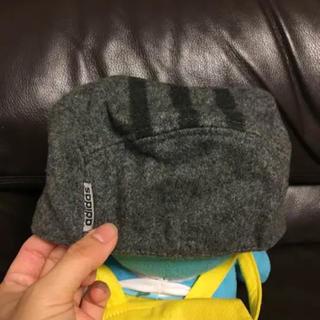 アディダス(adidas)のアディダスハンチング帽子ウール混サイズ58センチ(ハンチング/ベレー帽)