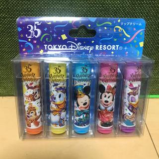 ディズニー(Disney)のDisney❁35周年 デザイン リップクリーム(リップケア/リップクリーム)