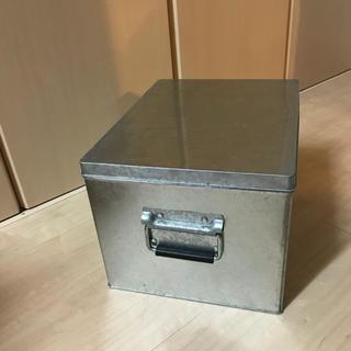 ムジルシリョウヒン(MUJI (無印良品))の鉄製ボックス(収納/キッチン雑貨)