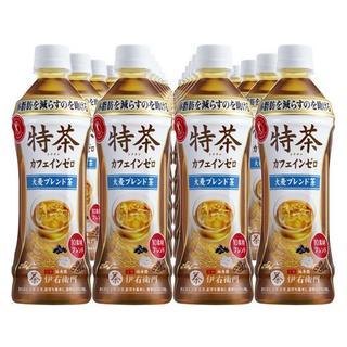 ■訳あり 特茶 カフェインゼロ 500ml(特保)4箱(計96本)(茶)