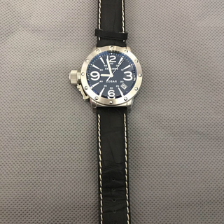 シーレーン(SEALANE)のシーレーン SEALANE 腕時計 夜光 SE32-LBK メンズ(腕時計(アナログ))