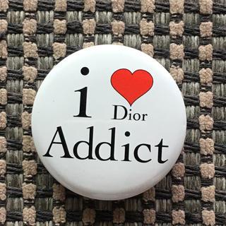 クリスチャンディオール(Christian Dior)のディオール 缶バッジ(バッジ/ピンバッジ)